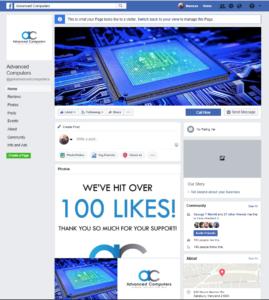 advanced computers facebook