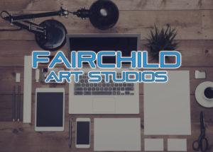 fairchild art studios logo desk