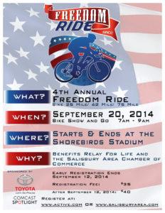 Freedom Ride flyer