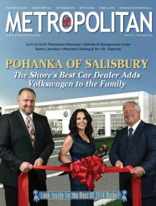 Metropolitan Magazine Cover Salisbury