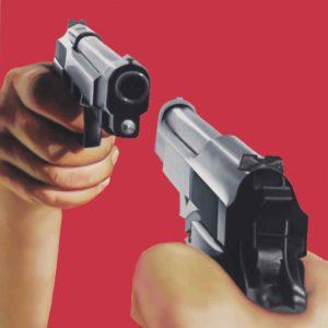 James Rosenquist Guns Painting