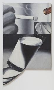 James Rosenquist White Cigarette Painting