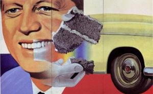 James Rosenquist JFK Painting