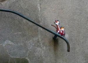 Street Art Example Calvin and Hobbes