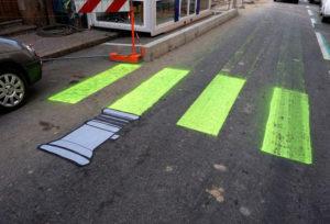 Street Art Example Light Saber